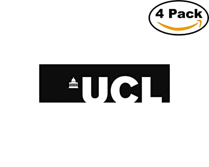 Colleges and universities ucl logo 4 stickers 4x4 inches car bumper window sticker decal jpeg