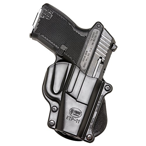 Fobus KTP11 Standard Holster for Kel-Tec P-11 9mm &.40 Ruger EC9s, LC380, LC9, LC9s, LC9s Pro, SCCY CPX1 1st gen (single stack only), Right Hand Paddle