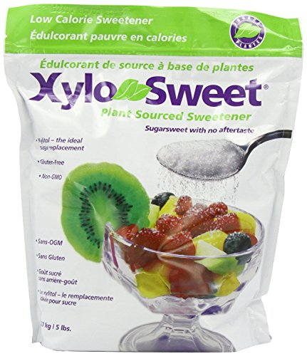 *NEW* Xlear Xylosweet Bag, 5-Pound - with set of FREE stainless steel''Practick Solutions'' MEASURING SPOONS by Xlear (Image #1)