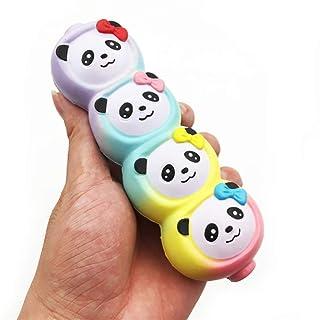 Su Bambino Adulto Panda Arcobaleno Rimbalzo Lento Giocattolo PU Decompressione Sfogo Regalo Arredamento