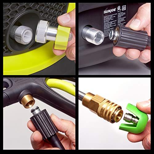Sun Joe SPX3000 Joe 2030 PSI1.76 GPM 14.5 Amp Electric Pressure Washer, NEW, Green