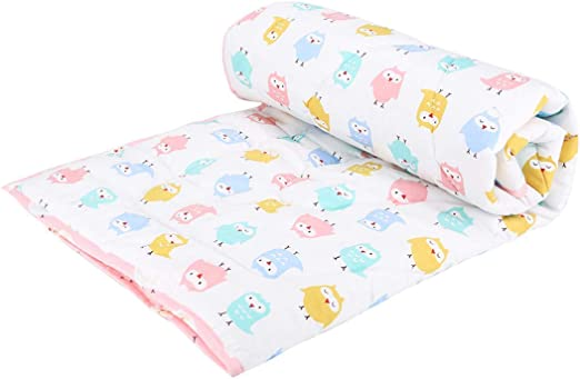 Blue Pink /& Blue Available Super Soft Newborn Baby Girl Boy Mink Nursery Cot Blanket Comforter Moon /& Stars|