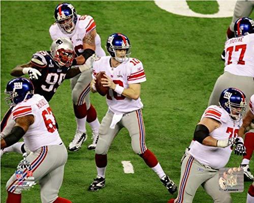 Eli Manning New York Giants Super Bowl XLVI Action Photo (Size: 8