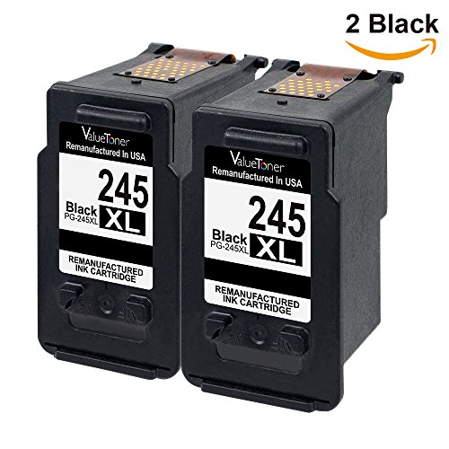 Valuetoner Remanufactured Ink Cartridge Replacement For Canon PG-245XL - Canon Ink 245 Xl
