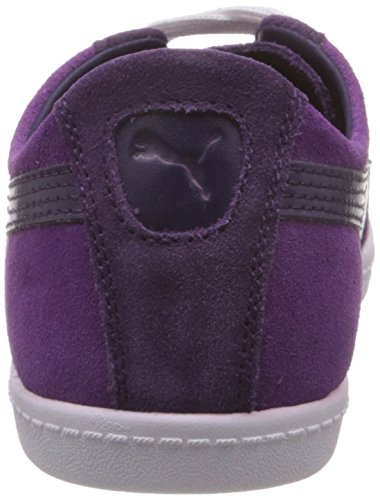 Puma Glyde Lo Wn's Sneaker Twilight Blue / White / Morado (Violett (blackberry cordial 16))