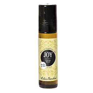 Edens Garden Joy Essential Oil Synergy Blend, 100% Pure Therapeutic Grade (Pre-Diluted & Ready To Use- Energy & Stress) 10 ml Roll-On