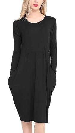 New Womens Ladies Lagenlook Italian Drape Baggy Side Pockets Sleeveless Dress