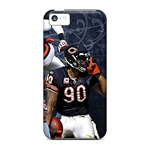 Great Hard Phone Case For Apple Iphone 5c With Unique Design High Resolution Chicago Bears Series AshtonWells
