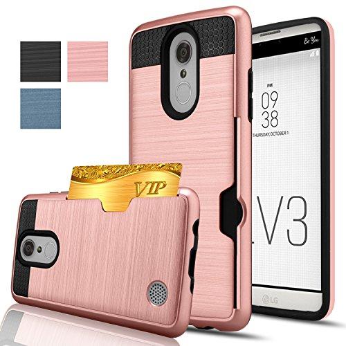 lg-aristo-caselg-lv3-caseanoke-credit-card-slots-holdernot-wallet-hard-silicone-rubber-hybrid-armor-