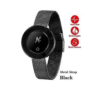 ZGYYDY Señora de la Moda Smart Watch IP68 Impermeable Monitor de ...
