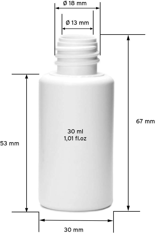 10 St/ück Nachf/üllbare Reise-Plastikflaschen Zuverl/ässige Versiegelung Auslaufsichere Abdeckflaschen Kleine Plastikflaschen Kosmetikfl/üssigkeitsbeh/älter Phoetya 30ml Plastik-Reiseflaschen