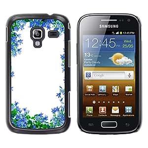 Una Imagen De Pureza - Metal de aluminio y de plástico duro Caja del teléfono - Negro - Samsung Galaxy Ace 2