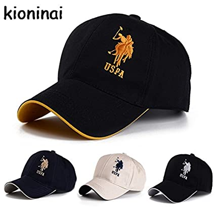 Buy Generic Pink   Polo Cap USPA Baseball Cap Sport Hat Gorras Planas  Snapback Caps Hip Hop Hats Last Kings Snapbacks Casquette Cotton Adjustable  Online at ... 7e45111bd97
