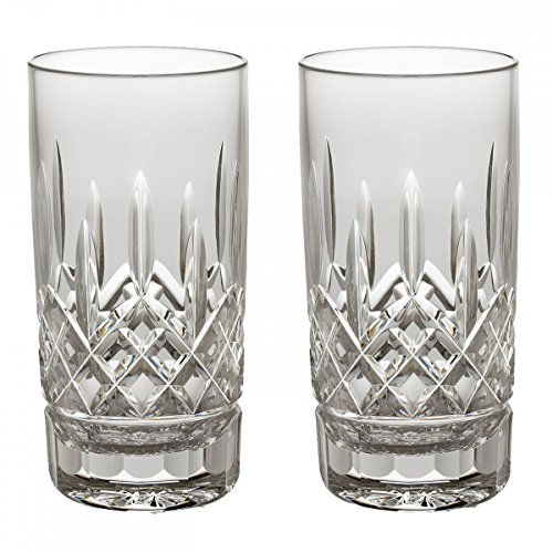 Pilsner Glass Lismore - Waterford Lismore High Ball Pair, 12-Ounce