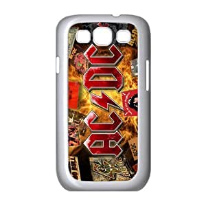 AC/DC Music Poster ACDC Band Case Cover Protector Accessory for Samsung Galaxy S3 I9300 I9308 I939