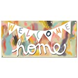 Graphics and More Welcome Home - Party Celebration Sign Banner - 58'' (width) X 28'' (height)