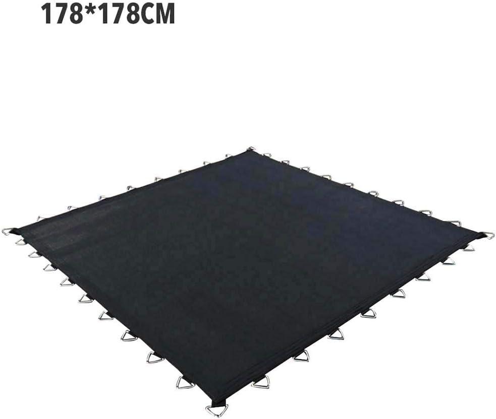 Caste - Alfombrilla de repuesto para cama elástica, resistente a la intemperie, superficie de salto para cama elástica cuadrada