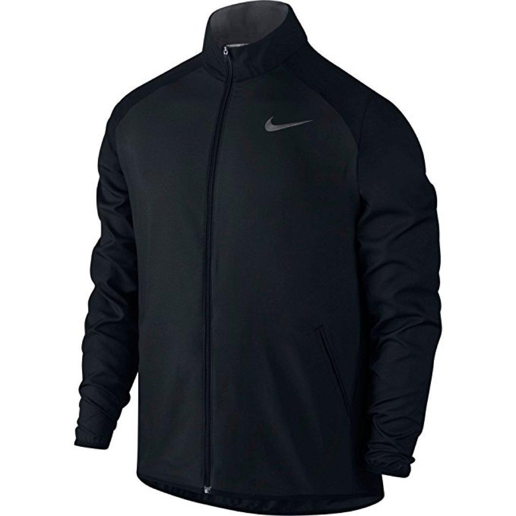 NIKE New Men's Dry Team Training Jacket Black/Dk Grey/Dk Grey Large