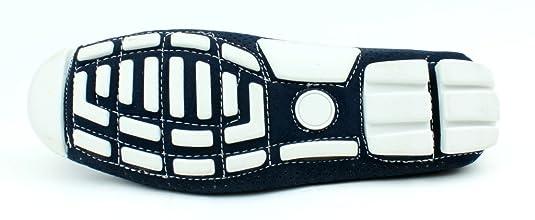 Hombre Casual Zapatos Vestido Scans Pantuflas sin Cierres Azul Marino Mocasines GB: Amazon.es: Zapatos y complementos