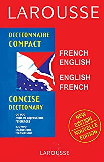 Larousse Compact Concise Dictionary French-English / English-French 1st Edition price comparison at Flipkart, Amazon, Crossword, Uread, Bookadda, Landmark, Homeshop18