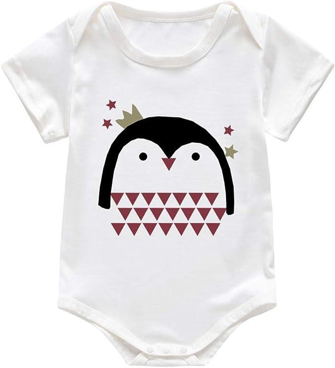 MAYOGO Recién Nacido bebé Unisex Pelele Dibujos Animados Pijamas ...