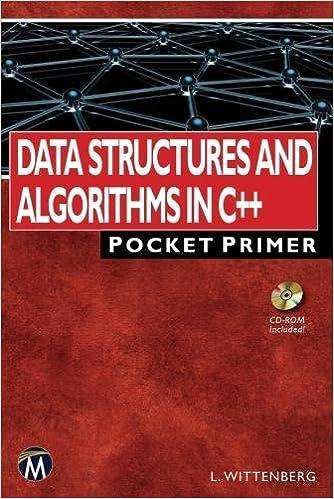 Data Structures and Algorithms in C++ Pocket Primer