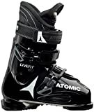 Atomic Live Fit 80 Ski Boots Black/White/Anthracite Mens Sz 10/10.5...