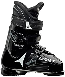 Amazon.com : Atomic Men's Live Fit 80 Ski Boots : Sports