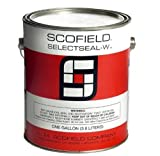 L.M. Scofield - Selectseal-W (1 Gallon) - Clear, Acrylic-Polyurethane Concrete Sealer and Curing Compound