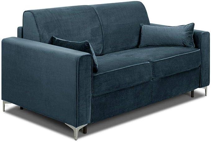 Inside Jackson Sofá cama con somier de láminas y cabecero ...