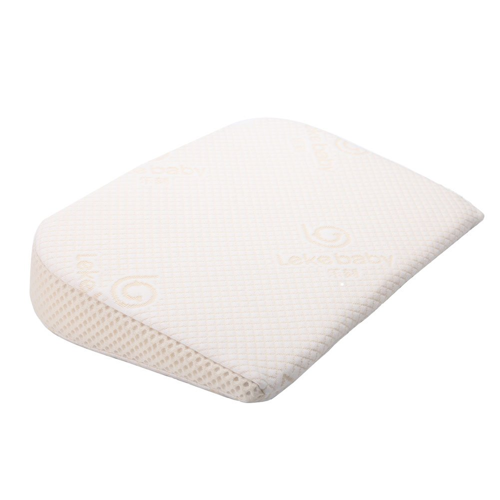 Lekebaby Universal Bassinet Wedge Pillow and Pregnancy Wedge Pillow for Baby Mattress and Sleep Positioner Amyland