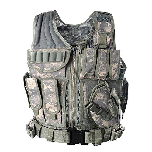 Yakeda Police Vest Army Vest Seal Vest Field Vest Tactical Military...