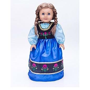 Amazon.com: Ice Princess Scandinavian Princess Dress