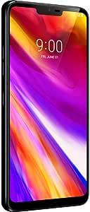 "LG Electronics G7 ThinQ Factory Unlocked Phone - 6.1"" Screen - 64GB - Aurora Black (U.S. Warranty)"