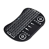 Leegoal(TM) Backlit Mini Wireless Keyboard,2.4 G Portable Keyboard with Touchpad Mouse for Windows,Android/Google/Smart TV, Linux,Windows,Mac