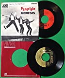 GENESIS Lot Of 2: Paperlate, No Reply At All 45rpm Vinyl VG+ Jukebox