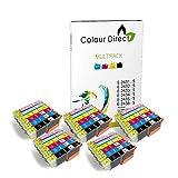 Colour Direct 30 XL (5 Sets) Compatible Ink Cartridges Replacement For Epson Expression Photo XP-55 XP-750 XP-760 XP-850 XP-860 XP-950 XP-960 Printers. 5 Sets 24XL