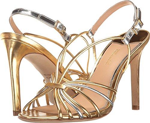 Diane von Furstenberg Women's Milena Gold/Silver Specchio 7 M US