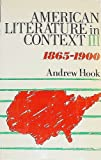 American Literature in Context, A. Hook, 0416736807