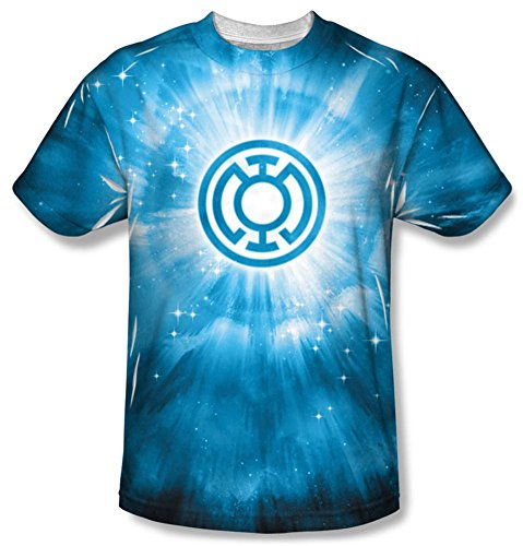 Green Lantern - Blue Energy T-Shirt Size XL (Green Lantern Blue Lantern)
