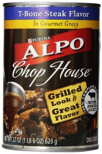 ALPO Chop House en sauce T-Bone Steak, 22 boîtes de Ounce (Pack de 12)