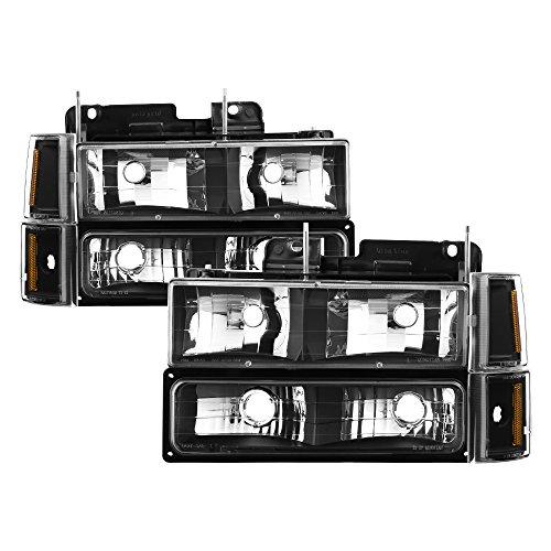 01 gmc sierra crystal headlights - 5