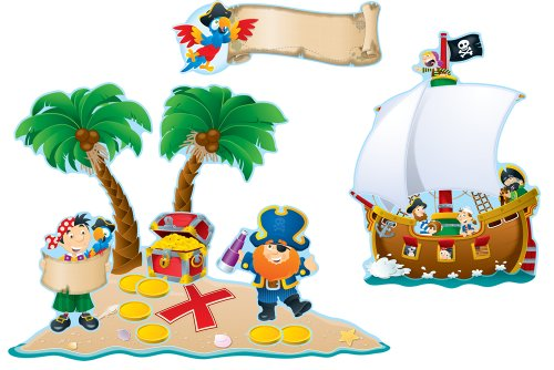 Carson Dellosa Pirates Bulletin Board Set (110133)