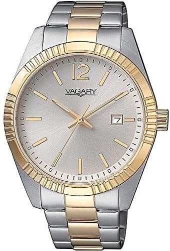 orologio solo tempo uomo Vagary By Citizen Timeless Gents classico cod. IB9-123-11