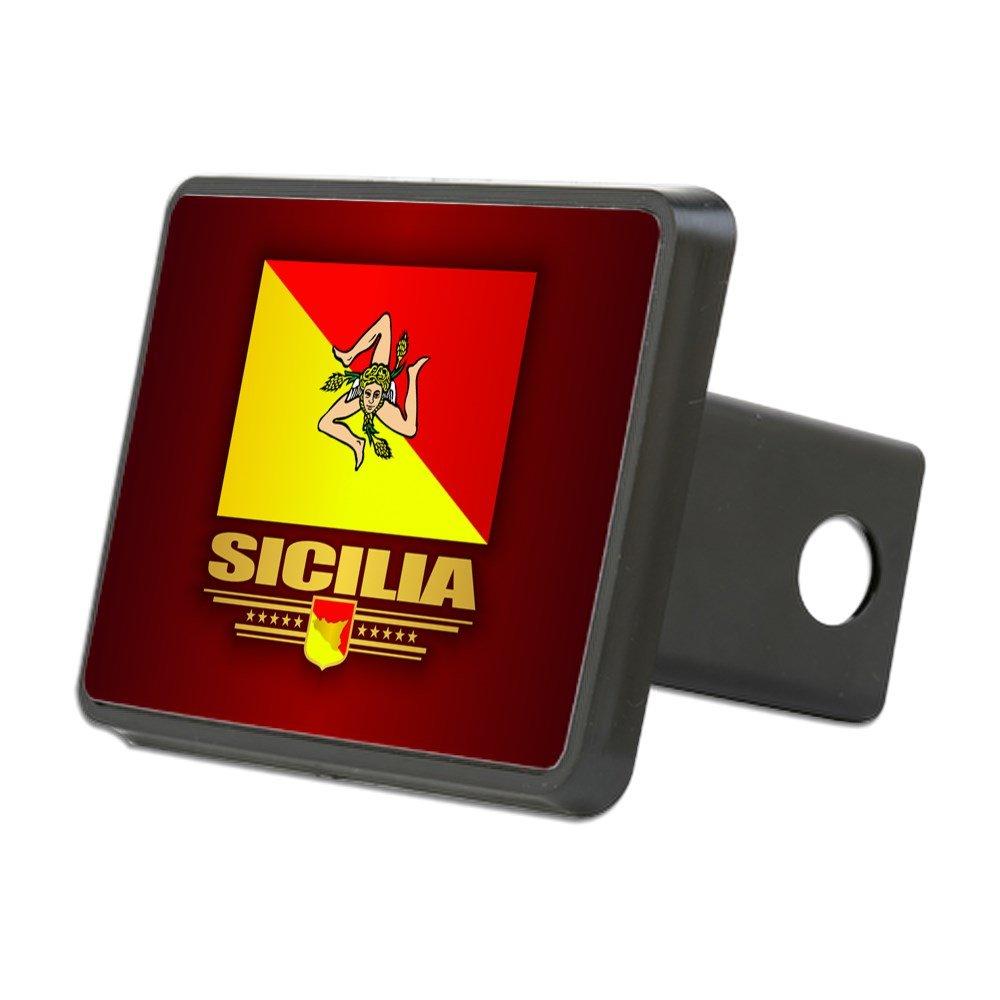 CafePress - Sicilia Hitch Cover - Trailer Hitch Cover, Truck Receiver Hitch Plug Insert by CafePress