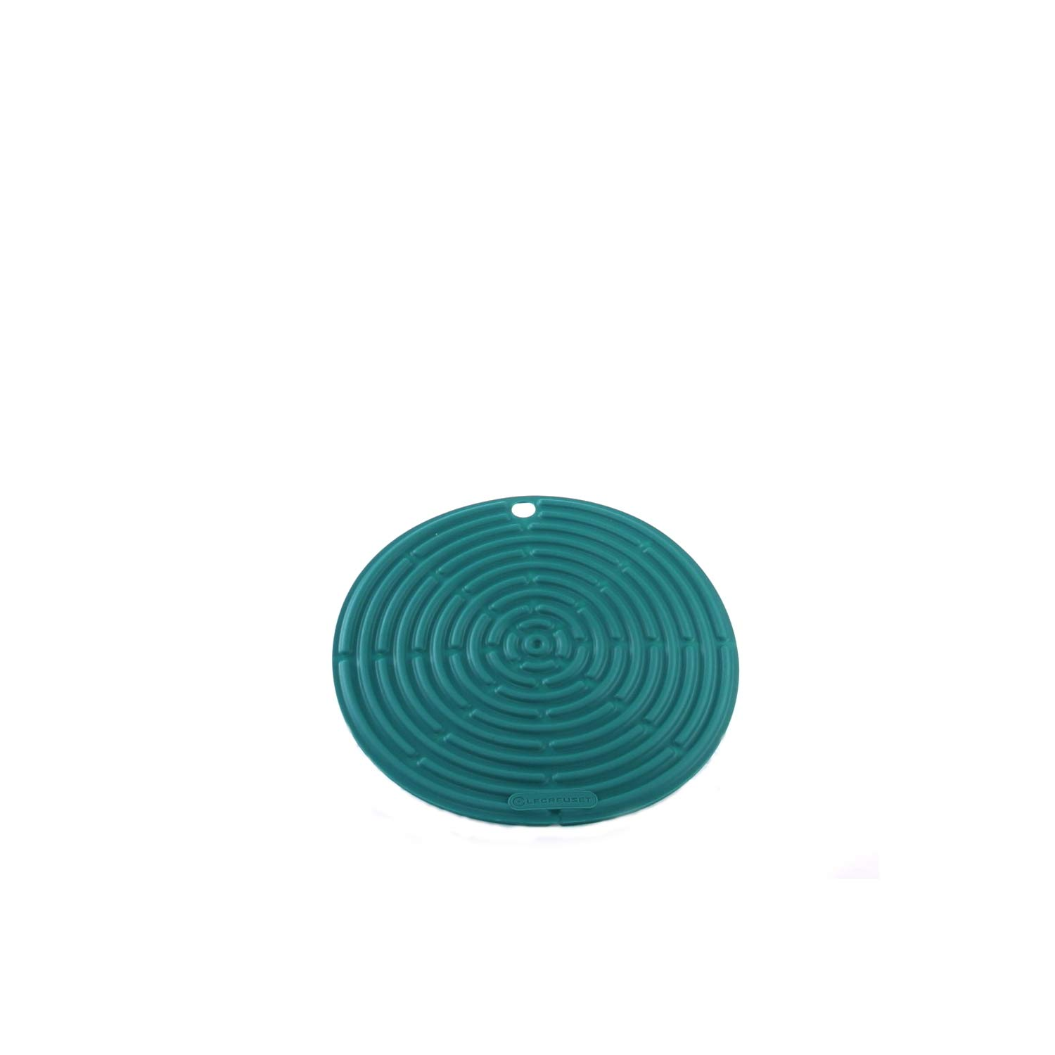 """Le Creuset Silicone 8"""" Round Cool Tool, Caribbean"""