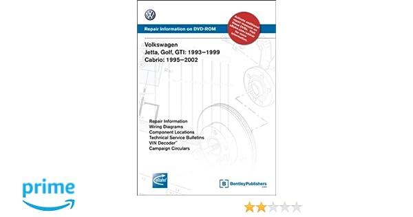 1993 Volkswagen Cabriolet Wiring Diagram