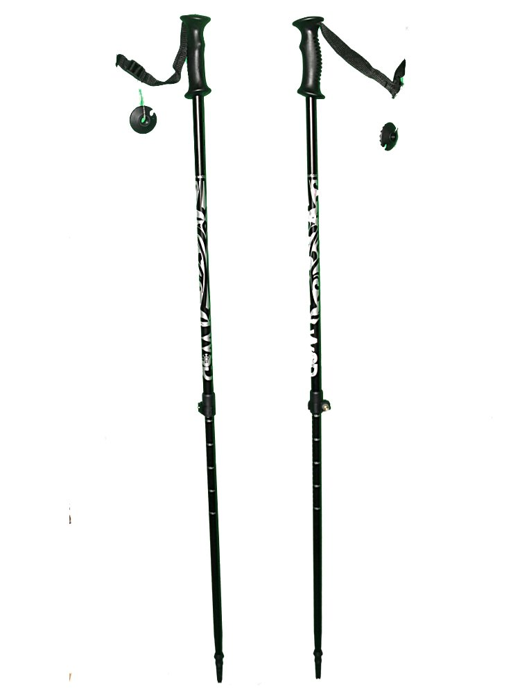 WSD Telescopic Adjustable Collapsible Alpine Ski Poles by WSD