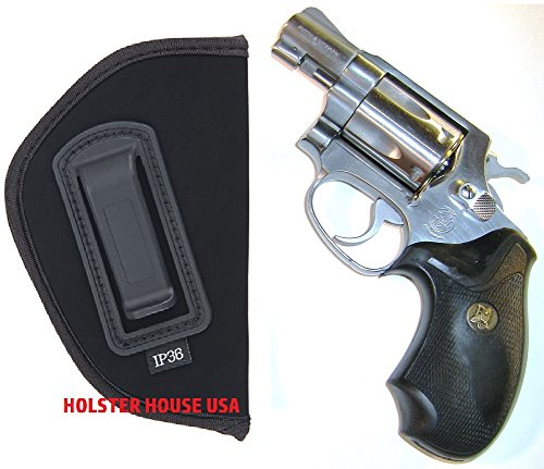 Inside the Waistband IWB Concealed Gun Holster for Smith and Wesson IWB S&W J-Frame models concealed hammer 631 638 640 and 649