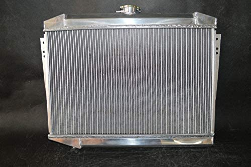 J-SERIES 5.9L V8 1972-1979 aluminum radiator 3 Row JEEP CHEROKEE WAGONEER